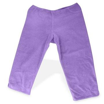 Hemp Terry Capri Stretch Pants - Violet, M/L