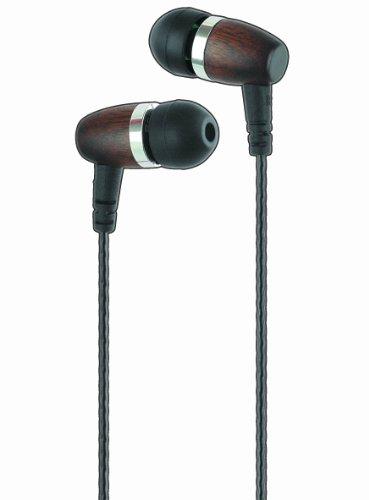 Soundsoul(Tm) S-018 Wood Hifi Inear Earphone (Black)