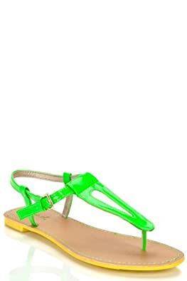 Flat Sandals For Women #2: 31H8ThzojrL SY395