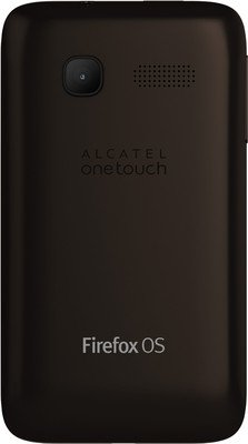 Alcatel Fire C Onetouch FireC 4020D Mobile Phone Dual Sim TouchScreen FireFox 3.5 Inch HVGA resolution Capacitive Screen Dark Chocolate Brown
