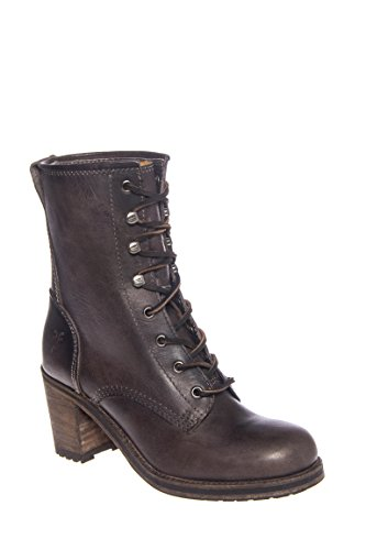 Karen Lace Up Short Bootie