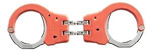 ASP Orange Identifier Hinge Handcuffs (Steel)