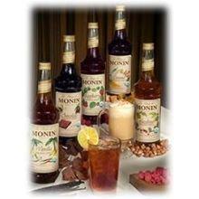 Monin Organic Caramel Flavor Syrup 750 Milliliter