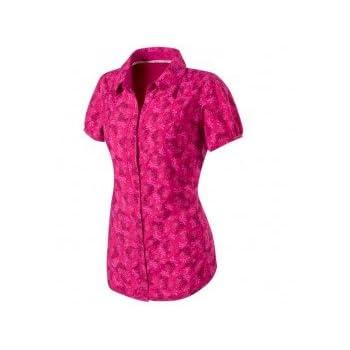 MILLET Ibarra Chemise manche courte femme miv4169 rose