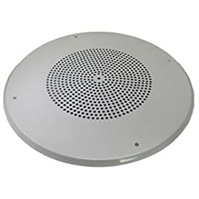 "8"" round spkr metal grille"