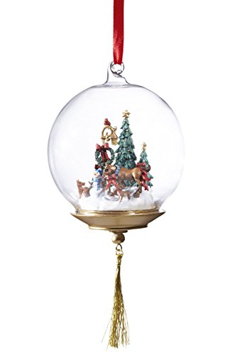 Breyer First Holiday Glass Globe Ornament - 1
