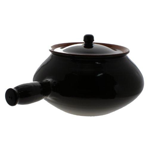 Coli Bakeware Cl04-Br--C7 Italian Ceramic Potato/Veggie Pot, 2.5-Quart, Brown