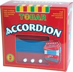 Enlarge toy image: Tobar Accordion Musical Instruments Toy -  preschool activity for young kids