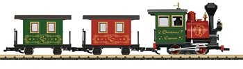 LGB LEHMANN G SCALE MODEL TRAINS - CHRISTMAS STARTER SET - 72460
