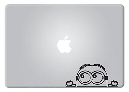 Minion Peeking Macbook Decal Vinyl Sticker Apple Mac Air Pro Retina Laptop sticker