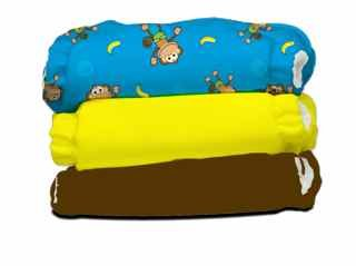 Charlie Banana 3 Pack - One Size - Monkey Doo - New 2013! - 1
