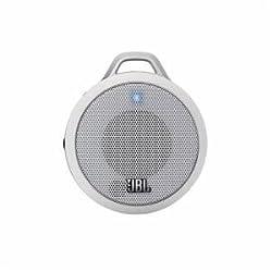 JBL Micro Wireless Portable Speaker (White)