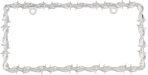 Bell Automotive 22-1-46144-8 Barbed Wire License Plate Frame