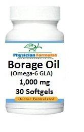 Borage Oil, 1000 Mg, 30 Softgels, Omega-6 Fatty Acid, Gamma Linolenic Acid Gla - Formulated By Ray Sahelian, M.D