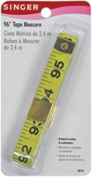 Singer Vinyl Tape Measure 96