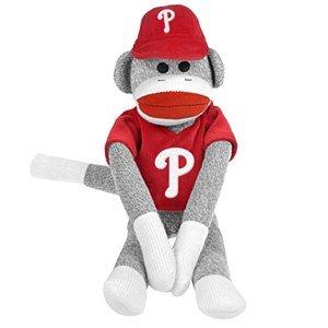 MLB Philadelphia Phillies Uniform Sock Monkey