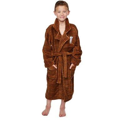 Doctor Who Kids Fleece Bathrobe 11th Doctor Size M Groovy