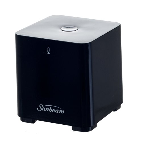 Sunbeam Bluetooth Conference Speaker With Built-In Microphone - Retail Packaging - Black