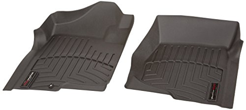 WeatherTech 440661 Custom Fit Front FloorLiners (Black) (2007 Chevy Tahoe Floor Liners compare prices)
