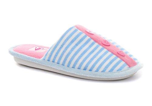 Cheap Dunlop Stripe Blue Womens Slipper Mules ALL SIZES (B005Z1PJUK)