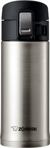 Zojirushi SM-KHE36XA 0.36-Liter Stainless Steel Travel Mug, 12-Ounce, Silver (Zojirushi Sm 12 compare prices)