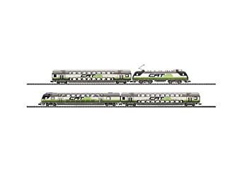 "Trix  ""City Airport Train"" Express Commuter  N Scale Train"