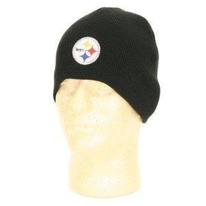 Pittsburgh Steelers Black Classic NFL Knit Beanie