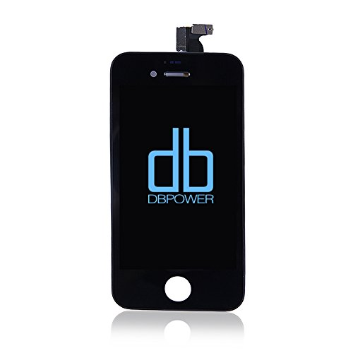 Dbpower Replacement Digitizer And Touch Screen Lcd Assembly For Apple Iphone 4S (For At&T/Verizon/Sprint Iphone 4S) + 6 Piece Tools Included (Black)