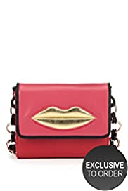 Limited Collection Lip Shoulder Bag