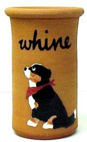 Bernese Mountain Dog Terra Cotta Whine Cooler (Wine Cooler)