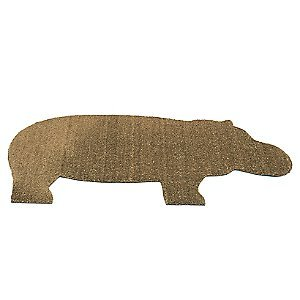 Hippo Door Mat by Droog : R236263