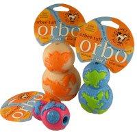 Planet Dog Orbee Tuff Orbo Ball – Large – Glow/orange