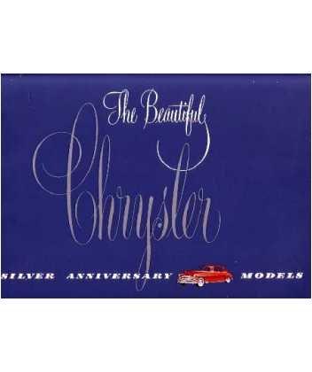 1949 CHRYSLER Sales Brochure Literature Book Piece