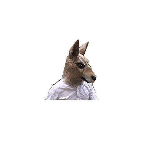 [Syrinx Holloween Party Wolf Head Mask for Cosplay Halloween Masquerade] (Gi Joe Cosplay Costumes)