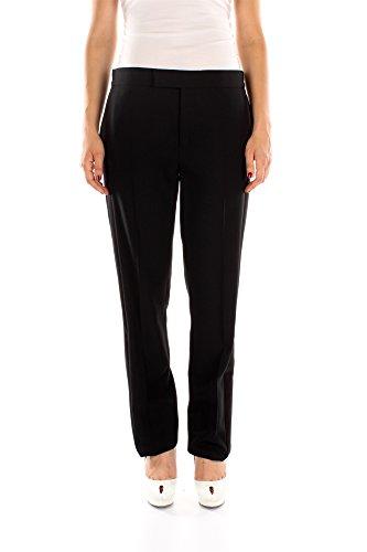115PA146AT11997T9000-Tom-Ford-Pantalons-Femme-Laine-Noir