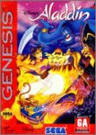 Disneys Aladdin carton box - Megadrive - US