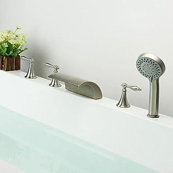 Badewannenarmaturen Zeitgenossisch Wasserfall Handdusche