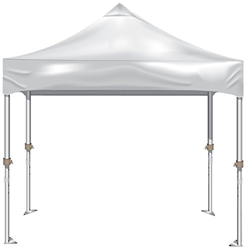 Kd Kanopy Xtf100W Xtf Aluminum Frame Indoor/Outdoor Portable Canopy, 10 By 10-Feet, White