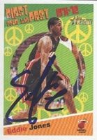 Eddie Jones Miami Heat 2001 Topps Heritage Autographed Hand Signed Trading Card. by Hall+of+Fame+Memorabilia