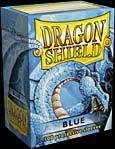 Dragon Shield Standard Deck Sleeves Blue 100 Count