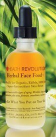 Herbal Face Food Anti-Oxidant Skin Serum - Self Health Revolutions 2 oz bottle