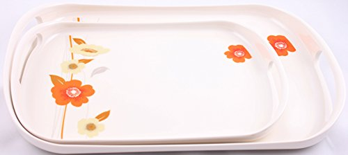 SUNWARE 2PC SERVING TRAY SET CROCKERY A319 - HERITAGE (2 Pcs)