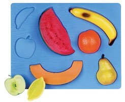 Picture of Fun Guidecraft 3-D Food Puzzles (G358) Fruit Puzzle (B00082W8X2) (3D Puzzles)