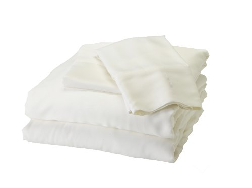 Bedvoyage Bamboo Rayon Sheet Set - Calif. King - White