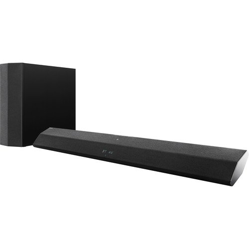 Sony 2.1 Channel 300 Watt Sound Bar Sound System With Wireless Active Subwoofer Home Theater System, W/ Bluetooth Streaming, 2-Way Speaker Design, S-Force Technology, Black Finish