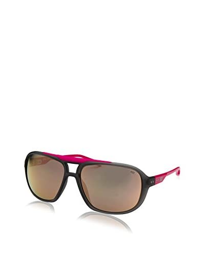 Nike Grey with Rose Gold Flash MDL 205 R Sunglasses, Matte Crystal Grey/Vivid Pink