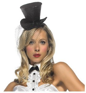 Leg Avenue Women's Mini Top Hat