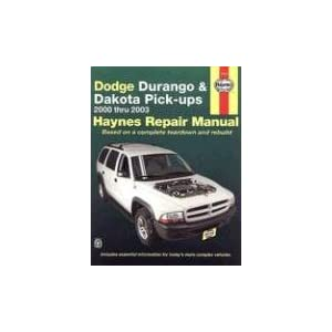 dodge durango and dakota pick ups 2000 2003 repa by. Black Bedroom Furniture Sets. Home Design Ideas