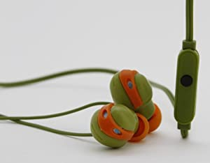 Teenage Mutant Ninja Turtles Earbuds with Mic