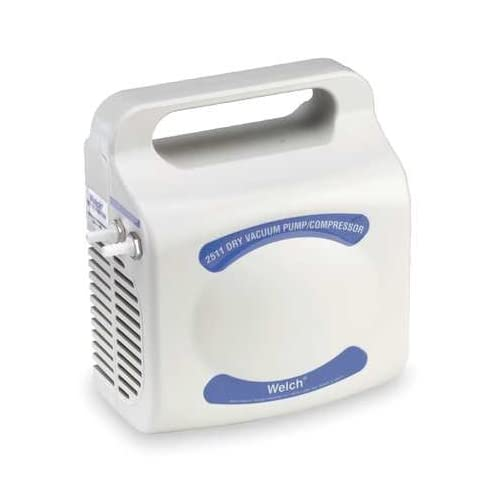 WELCH 2511B 01 Vacuum/Compressor Pump,0.033 HP,115V AC